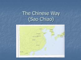 The Chinese Way (Sao Chio)
