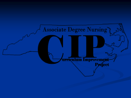 Associate Degree Nursing - Wake Technical Community …