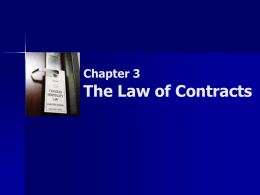 Chapter 1: The Canadian Legal System
