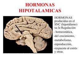 HORMONAS HIPOTALAMICAS