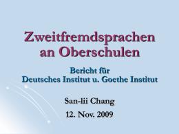 Jahresvollversammlung des GDVT