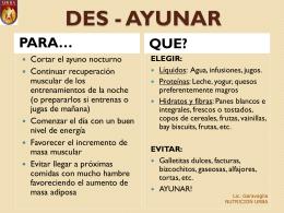 DES - AYUNDAR