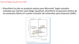 Gartner Magic Quadrant for EMS