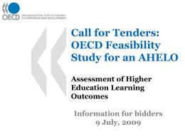 OECD AHELO
