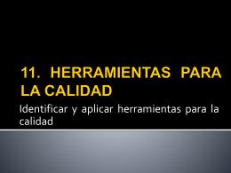 11. HERRAMIENTAS BASICAS PARA EL MEJORAMIENTO …