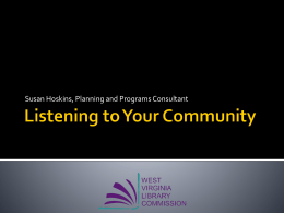 Listening to Your Community