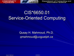 Service-Orinted Computing