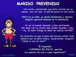 AG2- Marido prevenido - Xistes de l'Agust&#237