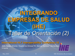 Interoperability Workshop