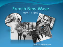 French New Wave - Cleveland State University