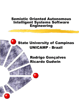Semiotic Oriented Autonomous Intelligent Systems …