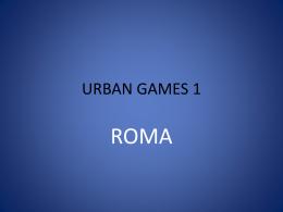URBAN GAMES 1