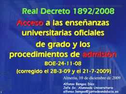 RD 1892/2009