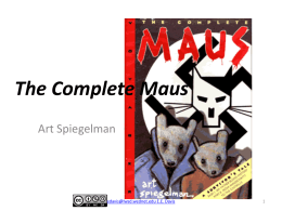 The Complete Maus - Ms. Davis