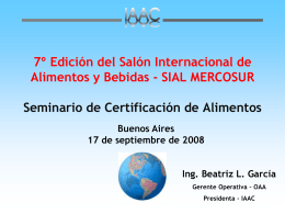 Inter American Accreditation Cooperation
