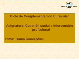 Diapositiva 1 - Facultad de Trabajo Social