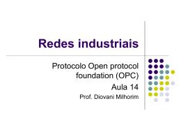 Protocolo OPC - Professor Diovani