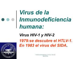 Virus de la Inmunodeficiencia humana: