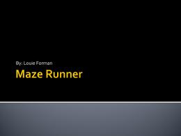 Maze Runner - Birmingham Public Schools