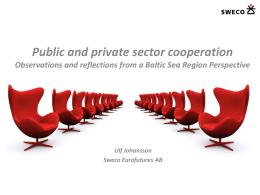 Avalike teenuste delegeerimise ja piirkondliku partnerluse
