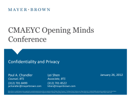 CMAEYC Opening Minds Conference