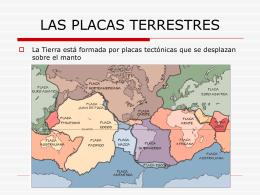 LAS PLACAS TERRESTRES