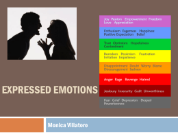 Expressed Emotions