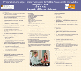 A COMPARISON OF TWO PHONEMIC AWARENESS TESTS …