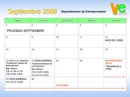 Calendario mensual de 2006