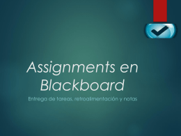 Uso de Assignment - Universidad TecVirtual