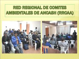 RED REGIONAL DE COMITES AMBIENTALES DE ANCASH …