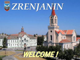 Why invest in Zrenjanin?