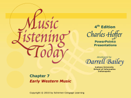 Music Listening Today Second Edition