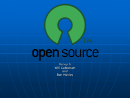 Open Source - University of Central Arkansas