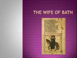 The Wife of Bath