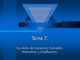 Tema 7. - ::WEB DEL PROFESOR::
