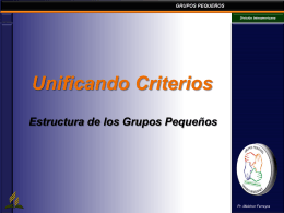 Unificando Criterios