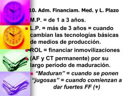 7. Sistema Financiero y Mercado de Capitales Argentinos.