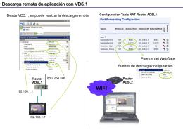 Descarga Remota con VD5.1
