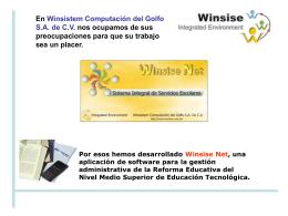 Winsise Dot Net