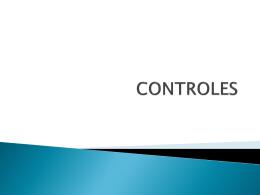 CONTROLES - El Blog como escenario de actividades …