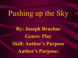 Pushing Up the Sky PowerPoint 1