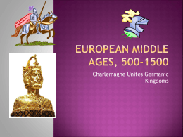 European Middle Ages, 500-1200
