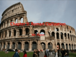 Chapter 9: Roman Civilization