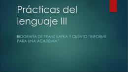 Practicas del lenguaje