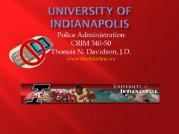 Crim 340-50 Lecture PPT