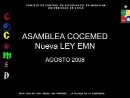 ASAMBLEA COCEMED