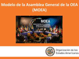 Insert title here - OAS :: Model OAS General Assembly …