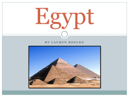 Egypt - Wikispaces