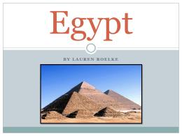 Egypt - Wikispaces